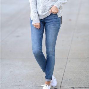 "Madewell tall 9"" High-Rise Skinny Jean"